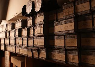 Photo: Blueprints  Lackawanna Historical Society Vaults (photos © Chris Balton)