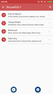 Hit Hindi Bollywood Songs Lyrics - náhled