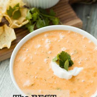 Cheesy Chicken Tortilla Soup.