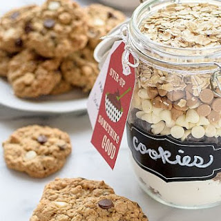 Triple Chip Oatmeal Cookie Mix in a Jar