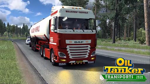 Oil Tanker Transport Simulation : Euro Truck Drive 1.2 screenshots 1