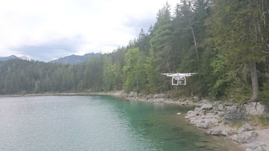 Photo: here she is, the drone, with camera and ability to fly 2 km away :-)