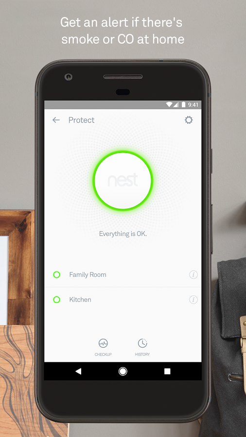 Nest- screenshot
