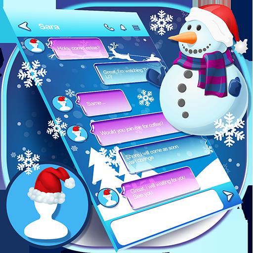 Winter Wonderland Wallpaper for SMS Icon