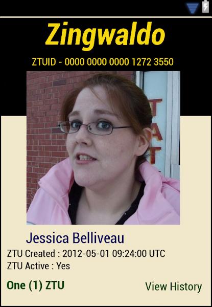 Photo: ZTU # 5 for Jessica Belliveau