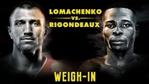 Lomachenko vs. Rigondeaux Weigh-In thumbnail
