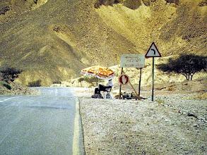 Photo: posto di blocco alle porte di Eilat
