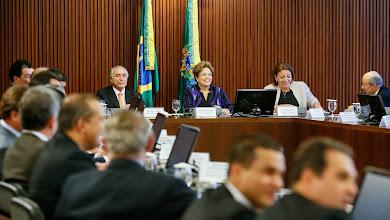 Photo: Presidenta Dilma Rousseff durante reunião do Conselho Político. (Brasília - DF, 19/11/2013)