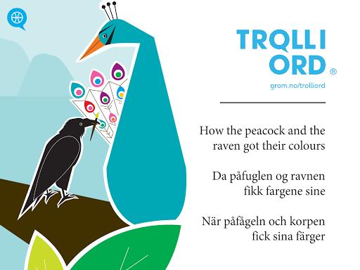 Troll i ord - Påfuglen
