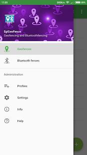 EgiGeoZone Geofence Bluetooth - náhled