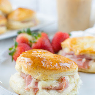 Honey Ham Biscuits.
