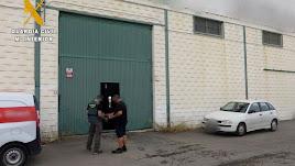 La Guardia Civil logra identificar al autor de los robos.