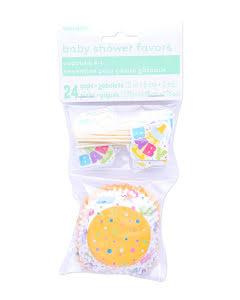 Babyshower, cupcake
