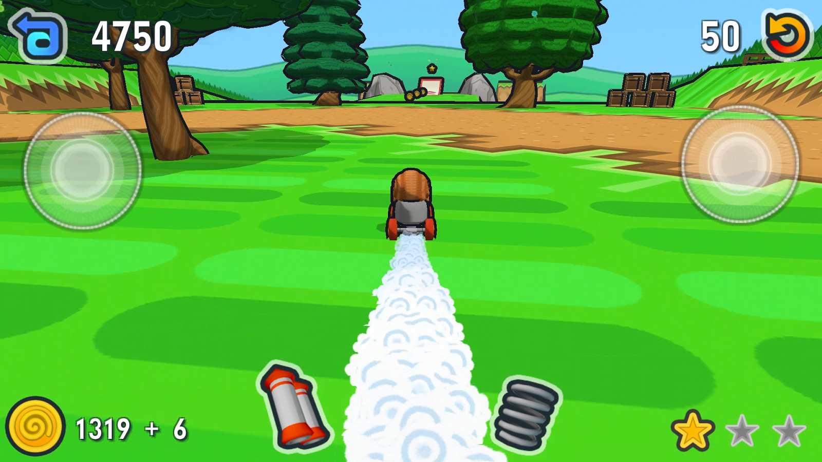 Escargot Kart- screenshot