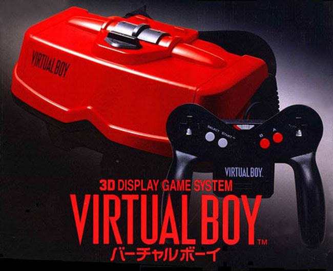 Virtual Boy ra mắt từ sớm nhưng không mấy thành công