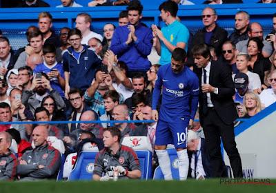 Antonio Conte toujours plus convaincu par Eden Hazard: un joueur polyvalent