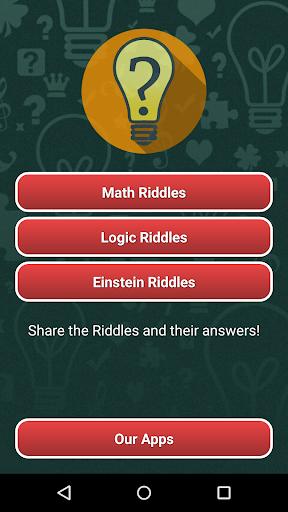 Riddles: Math Logic