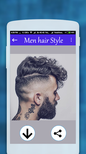 Men hairstyle set my face 2017 1.0.8 screenshots 1
