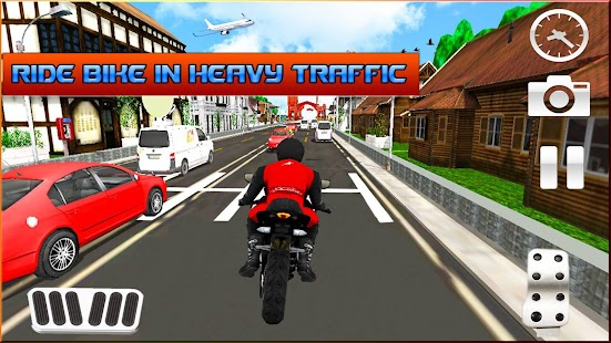 Real Bike Rider on Highway - 3d Motorcycle Games - náhled