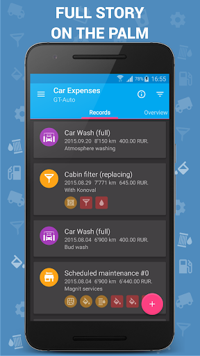 Car Expenses (Manager) screenshot