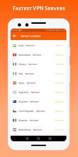 HOT VPN - Free VPN Proxy - High VPN speed for PC-Windows 7,8,10 and Mac apk screenshot 5