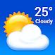 天気-地元の天気予報、アラート、レーダー