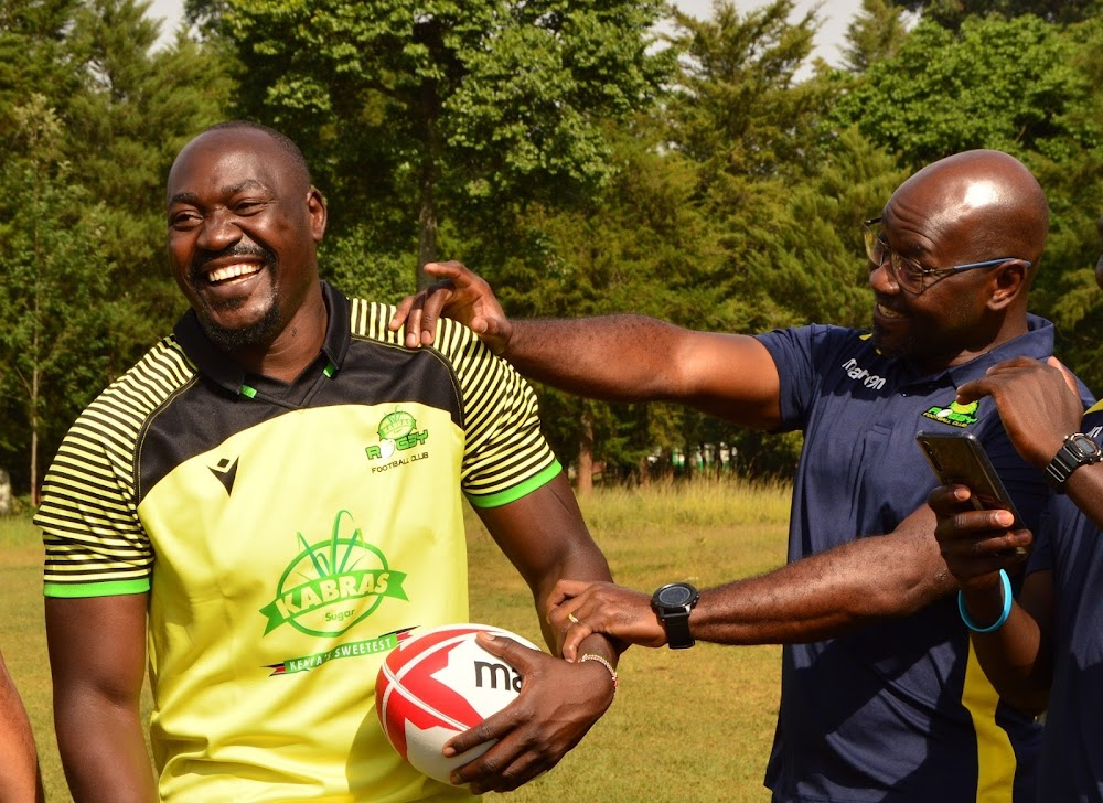 Kabras captain Sikuta hails vaccination drive as sign of better times