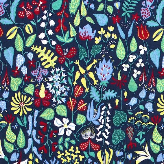 Herbarium av Stig Lindberg - blå