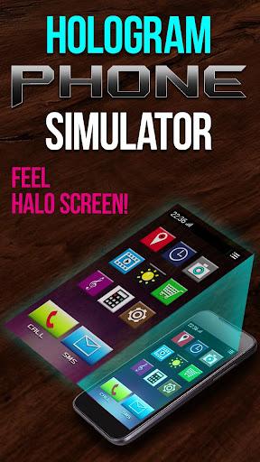 無料模拟Appのホログラム電話シミュレータ 記事Game