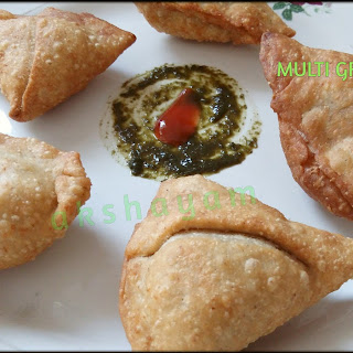 Multi-grain Samosas