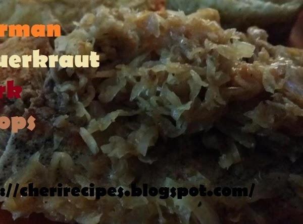 German Pork Chops And Sauerkraut Recipe