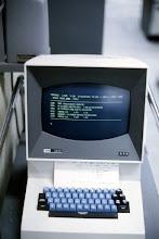 Photo: IBM 2260 Display Terminal at the Computing Center, University of Michigan, Ann Arbor, Michigan, USA
