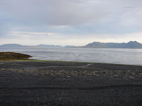Photo: Behm Canal from Point Higgins with Caamano Point seven miles away in the distance.