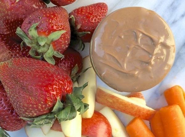 Chocolate Peanut Butter Fruit Dip Recipe