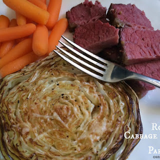 Roasted Cabbage Slices with Parmesan Recipe