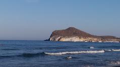 Una de las playas con acceso restringido.
