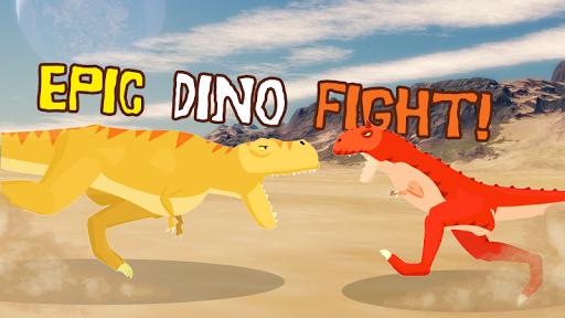 T-Rex Fights Carnotaurus  captures d'écran 1