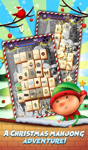 Xmas Mahjong: Christmas Holiday Magic android2mod screenshots 1