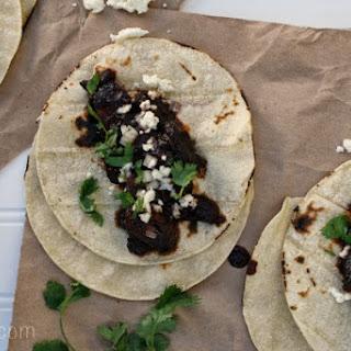 Spicy Pasilla-Mushroom Tacos