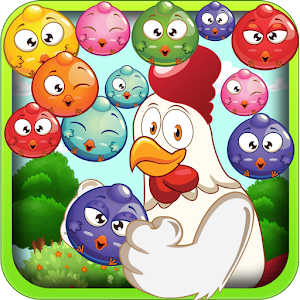 Chicken Rush Bubble Shooter for PC and MAC