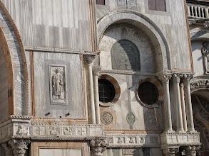 Photo: Markuskirche, Fassadenausschnitt