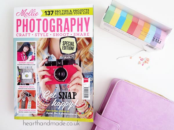 Join The Daily Creator Challenge - Mollie Makes Photography Special Cover