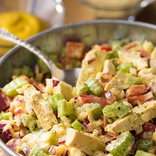 Mustard Chicken Salad.