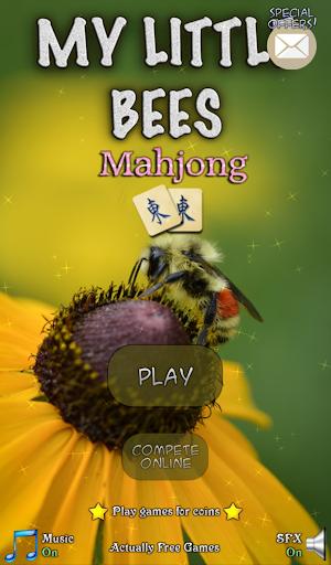 Hidden Mahjong: My Little Bees