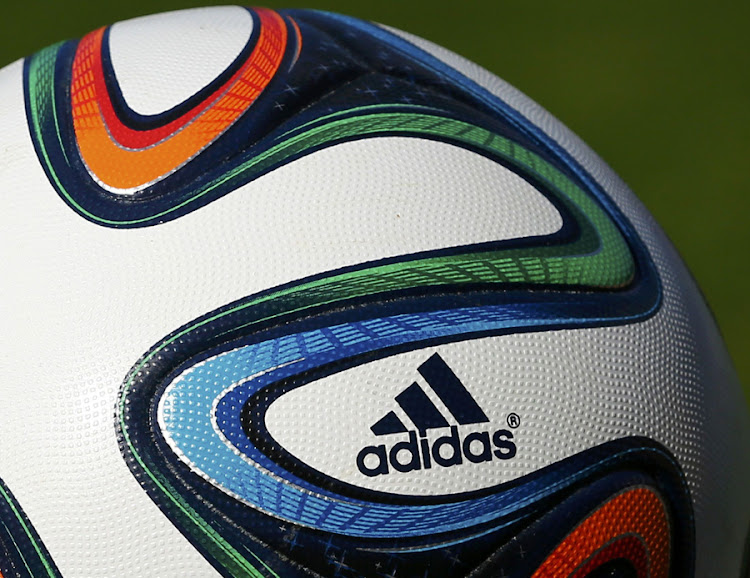 An official 2014 World Cup football printed with an Adidas logo, in Sion May 31 2014, Switzerland. Picture: REUTERS