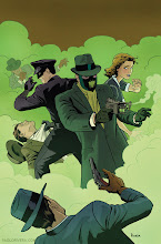Photo: GREEN HORNET #4 COVER. 2013. Ink(ed by Joe Rivera) on bristol board with digital color, 11 × 17″.