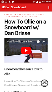 Snowboard lessons, videos & news - náhled