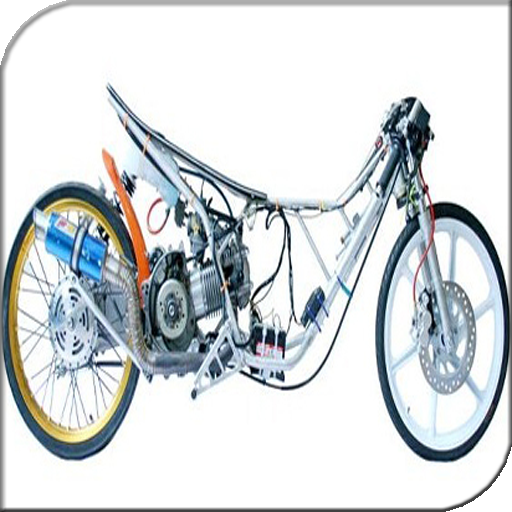 Modified Motorcycle Drag