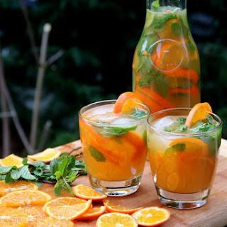Tangerine Or Mandarin Mojito.
