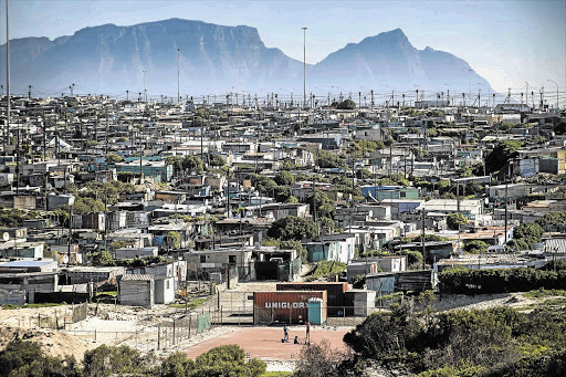 Khayelitsha informal settlement, Cape Town. File photo